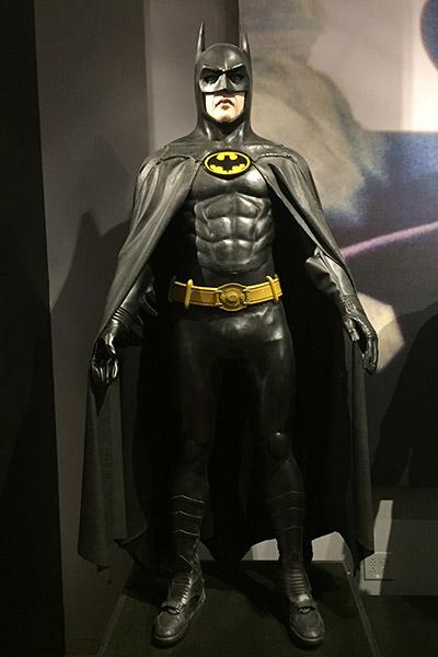 O traje de Michael Keaton no filme de 1989.