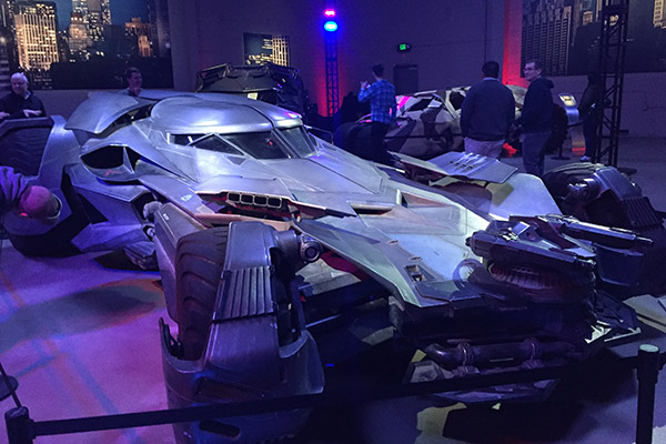 Por fim, o Batmóvel de Ben Affleck em Batman vs Superman: A Origem da Justiça.