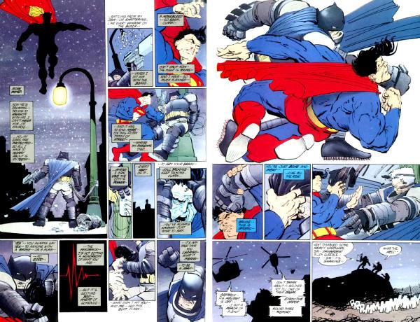 batman versus superman o cavaleiro das trevas frank miller