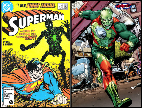 metallo superman batman