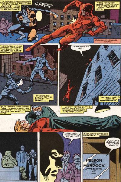 Rápido e sem piedade: a morte do Demolidor dá início ao caos.