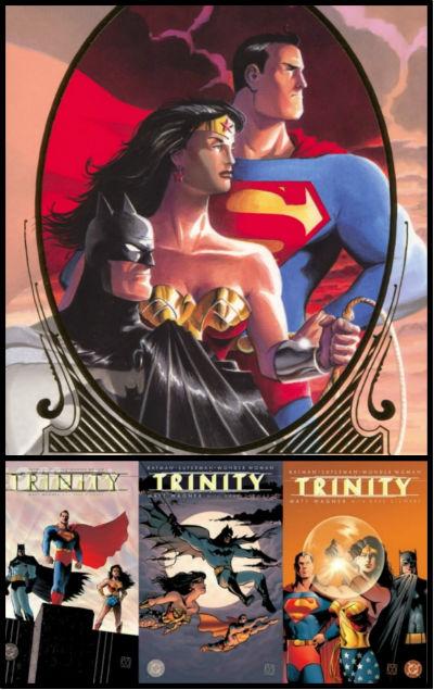 trindade batman mulher maravilha superman