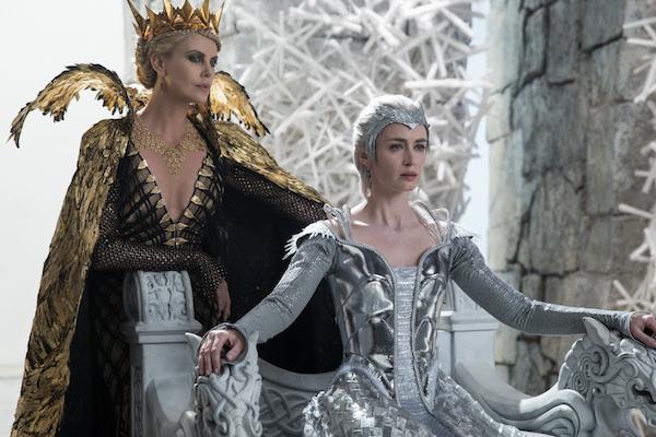 caçador e a rainha do gelo