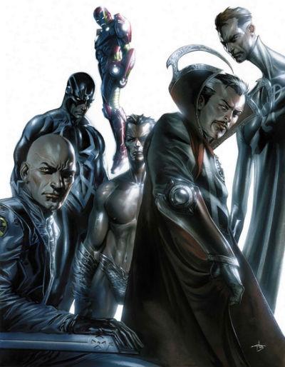 Novos Vingadores_Illuminati_Guerra Civil