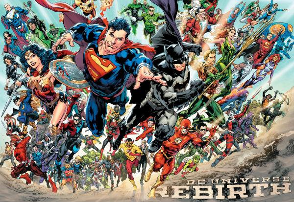 DC Universe - Rebirth #1 (2016) - renascimento