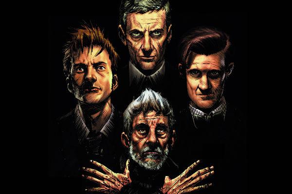os quatro doutores doctor who