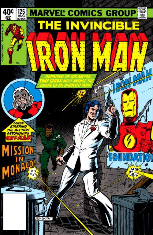 Capa original da edição #125.
