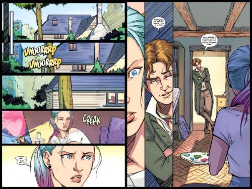 O 8º Doutor e suas entradas cheias de charme.