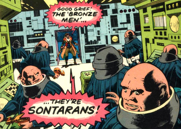 doctor who sontarans claw