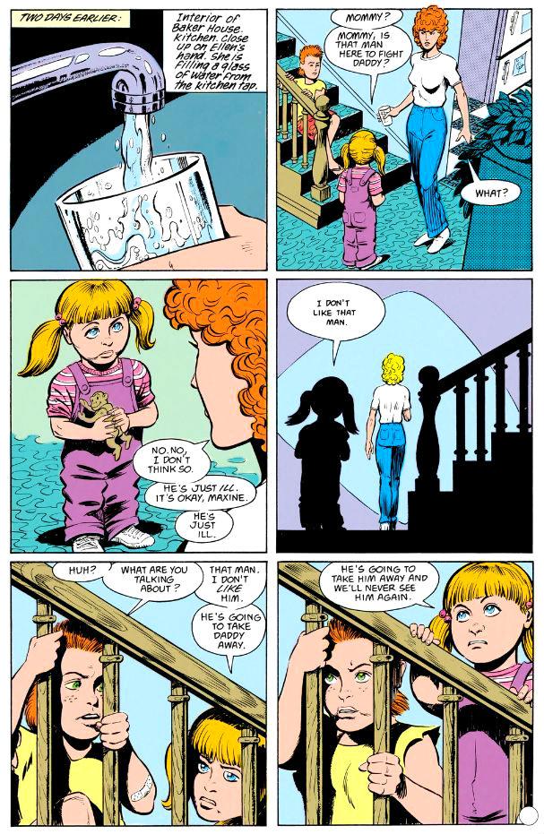 A primeira indicação de que Maxine tem poderes.