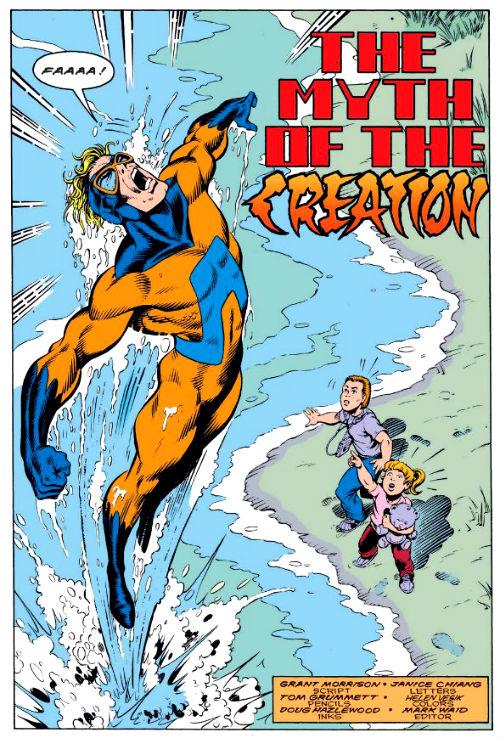 O Mito da Criação, em Origens Secretas #39.
