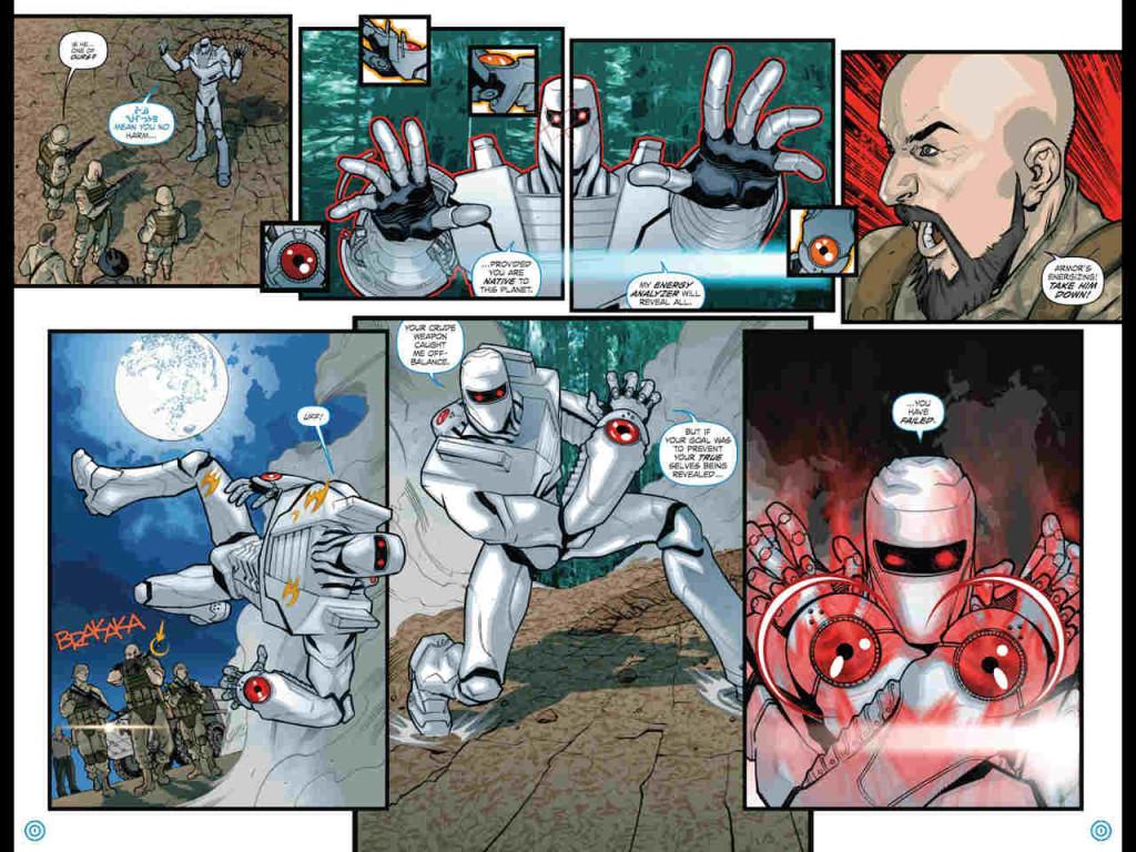 Uma das versões do novo Neutralizador está nos punhos do personagem.