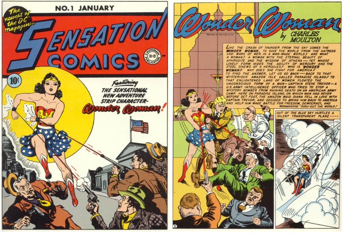 plano crítico sensation comics 1 mulher maravilha