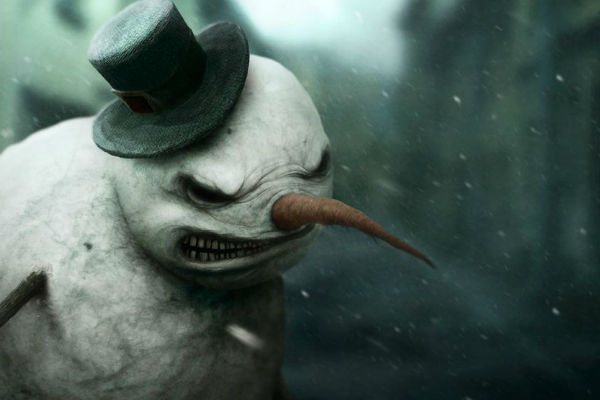 frosty-angry-horror-snowman-wearing-lincon-hat_time-and-relative-tempo-e-afins-doctor-who-livro