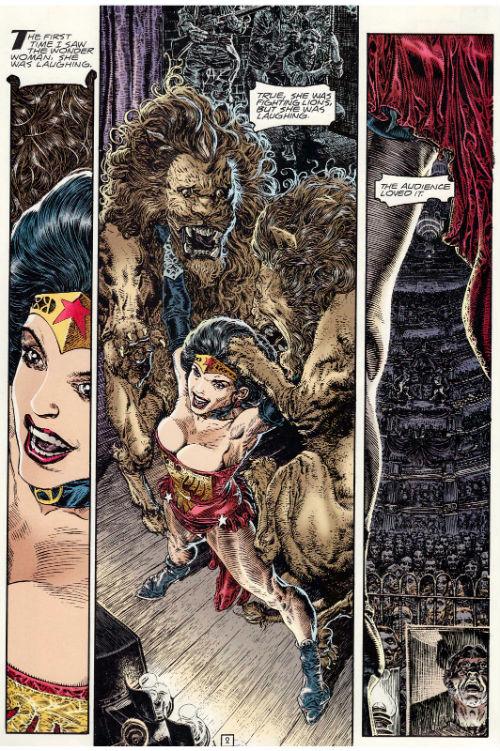 Wonder-Woman-Amazonia William Messner-Loebs plano critico mulher maravilha amazonia