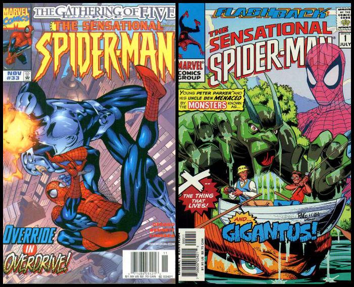 Sensational Spider-Man plano-critico Vol.1