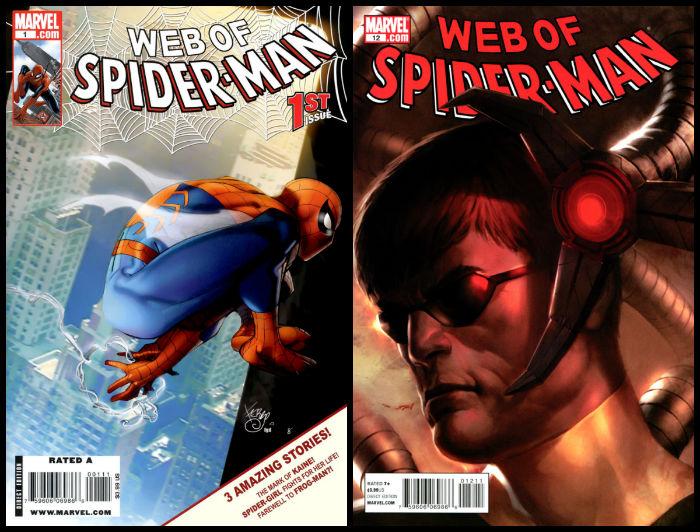 Web of Spider-Man Vol 2 plano critico
