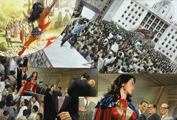 Wonder Woman Spirit of Truth palex Ross verdade plano critico