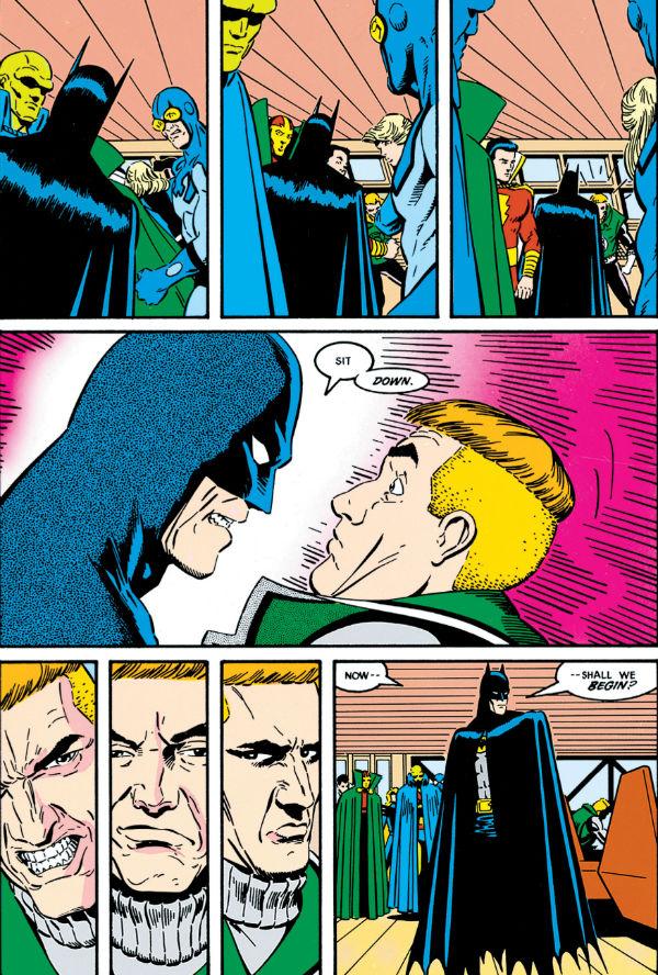 plano critico Batman Guy lanterna liga da justica