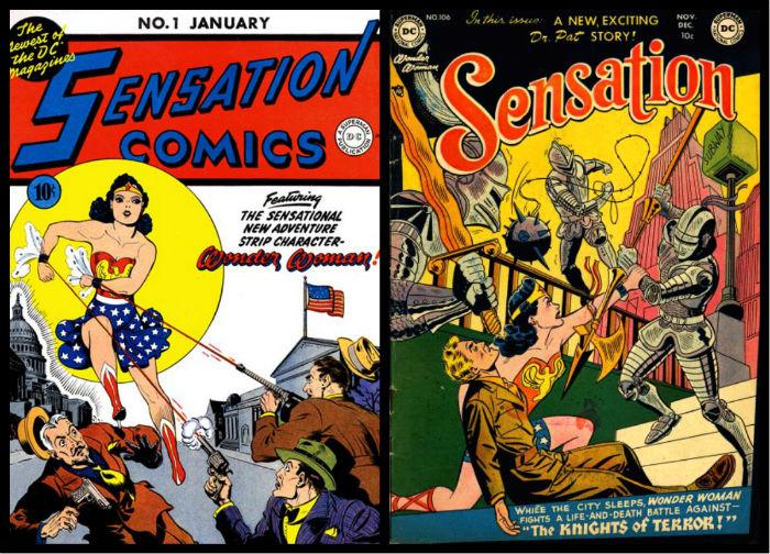 plano critico mulher maravilha sensation comics