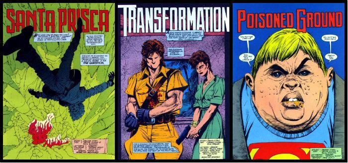 As primeiras páginas das edições #10 a 12.