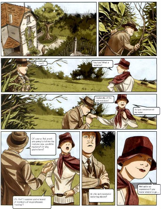 Agatha Christie's The Murder on the Links plano critico hastings e cinderela assassinato no campo de golfe