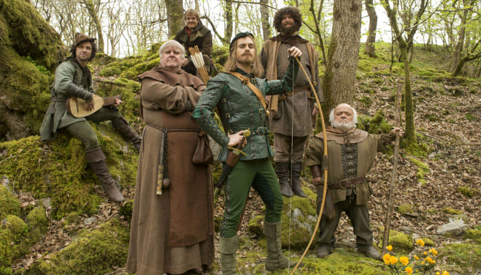 Doctor-Who-Robot-of-Sherwood-Robin-Hood-Merry-Men plano critico