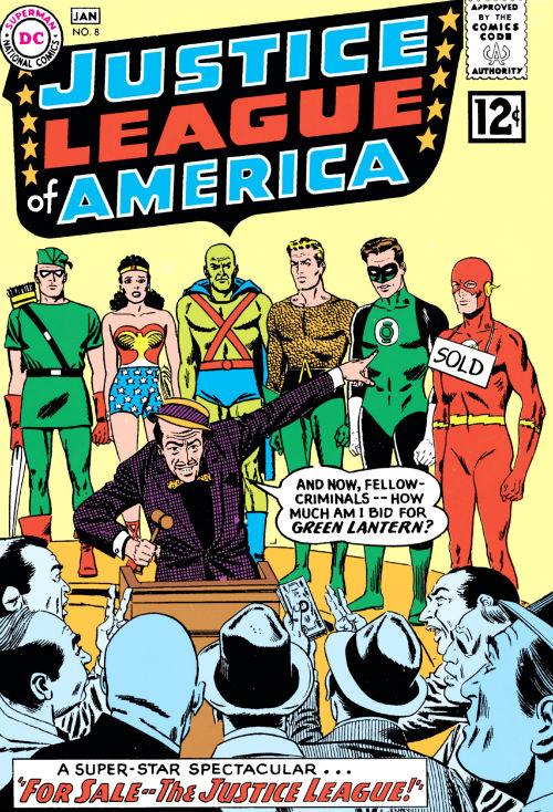 For Sale -- The Justice League plano critico