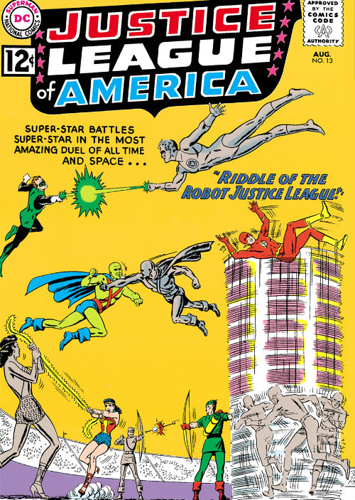 The Riddle of the Robot Justice League plano critico