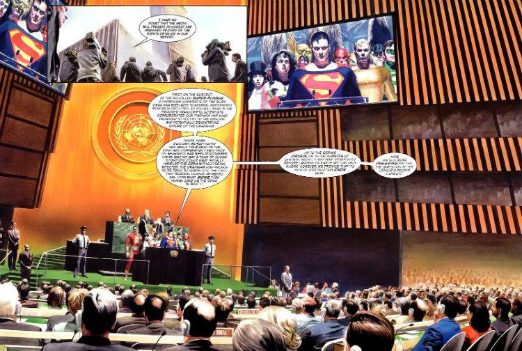 liga da justiça ONU liberdade plano critico