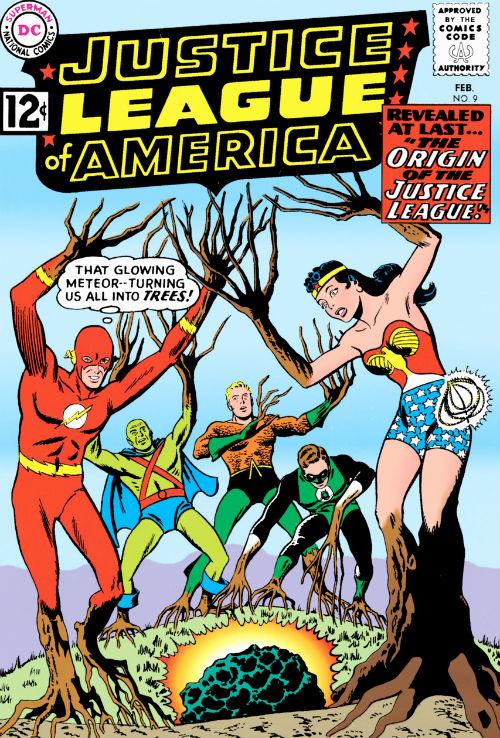 plano critico The Origin of the Justice League