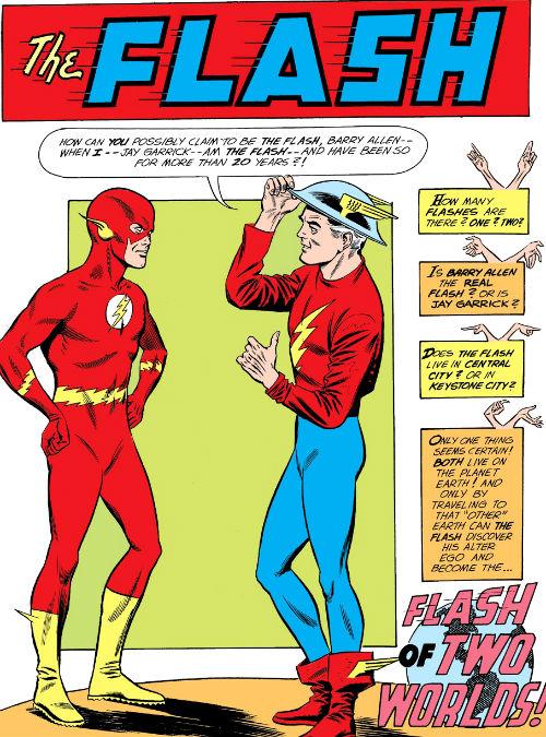 crítica o flash de dois mundos the flash vol 1 123 plano crítico