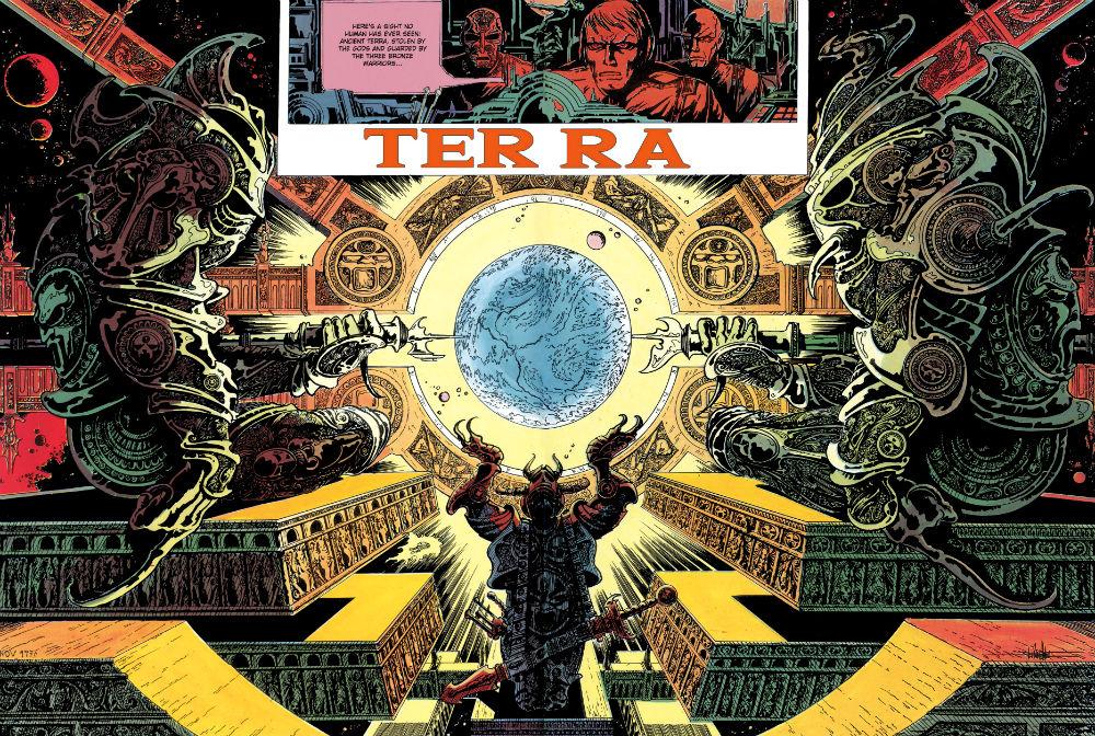 Terra Lone Sloane 01 - The Voyages of Lone Sloane #6 (2015) - plano critico