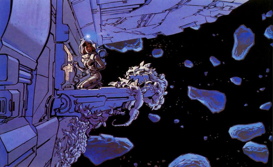 Valérian - HS2 - Les mauvais reves - laureline plano critico asteroides