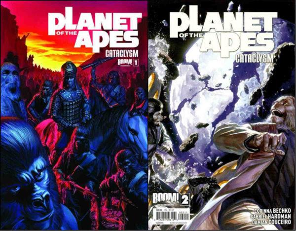 Alex Ross fez as capas das quatros primeiras edições. Olhem só que beleza as duas primeiras!