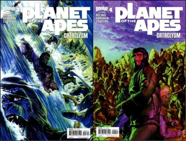 As outras duas capas de Alex Ross.