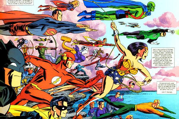 atual comics dc-new-frontier-darwyn-cooke plano critico liga da justiça a nova fronteira