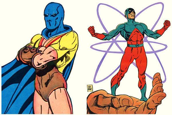 plano critico elektron atomo dc comics