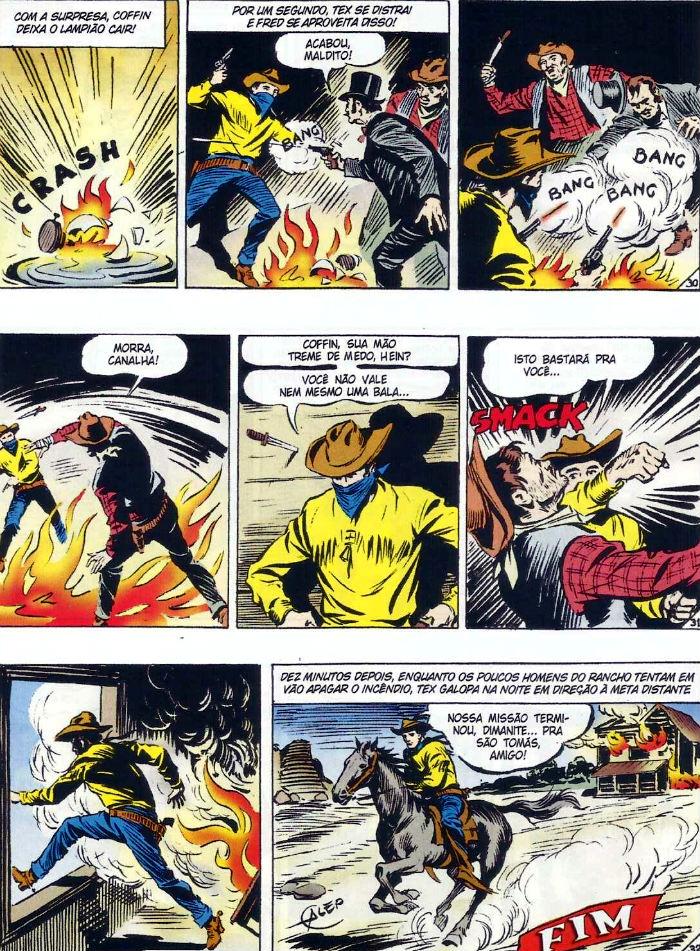 Tex em Cores - BR0001 - O Totem Misterioso (2009) - página 41 plano critico