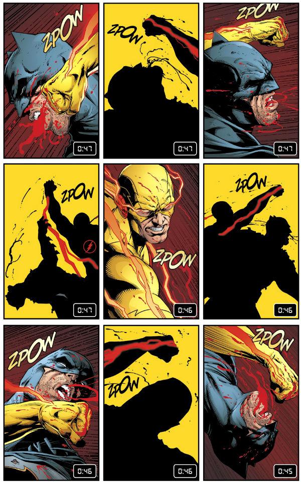 plano critico flash batman watchmen