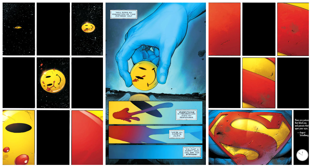 plano critico watchmen flash batman button doutor manhattan