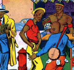 all-negro-comics-1-1947-16 plano critico representação dos negros nos quadrinhos