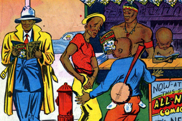 all-negro-comics-1-1947-16 plano critico representação dos negros nos quadrinhos