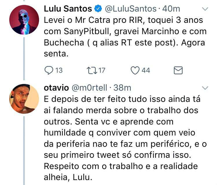 plano critico Lulu santos anitta vai malandra