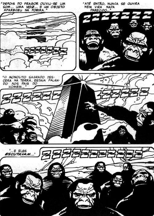 Nathan Never - Globo #2 - plano critico monolito negro
