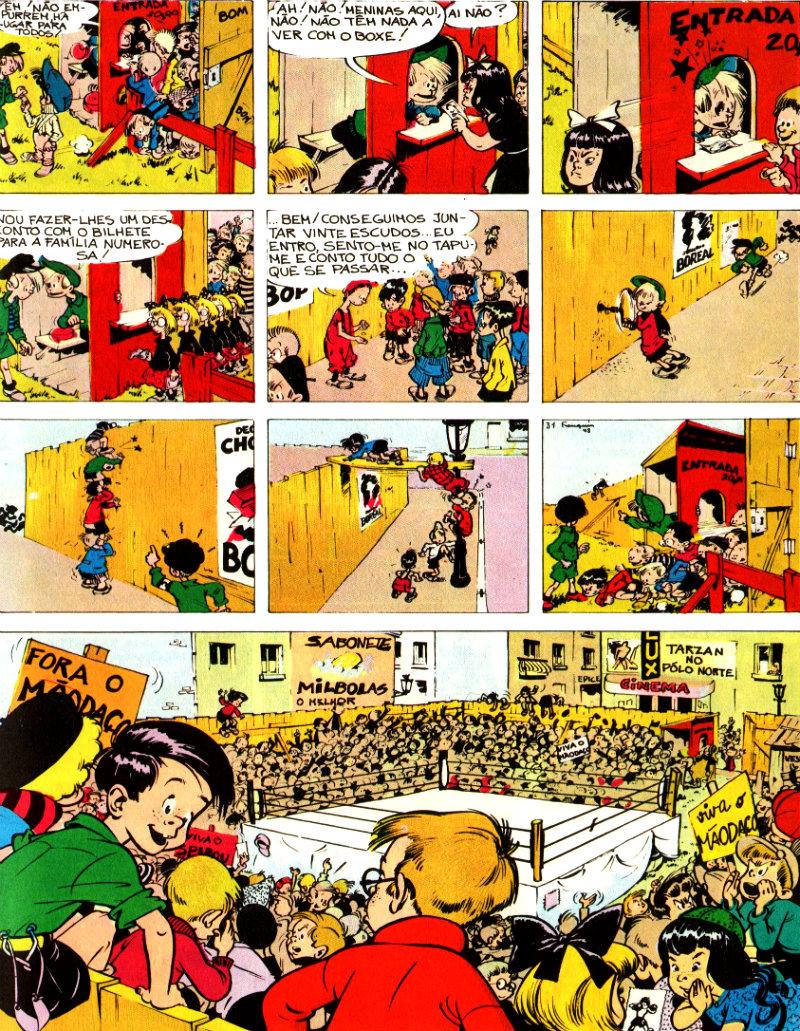 Spirou e Fantasio - PT0001 - Aventuras de Spirou e Fantasio #4 - ringue plano critico