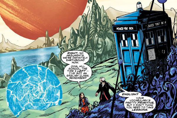 The Fractures plano critico doctor who