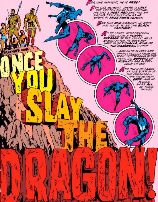 Slay-the-Dragon quando matar o dragão pantera negra plano critico