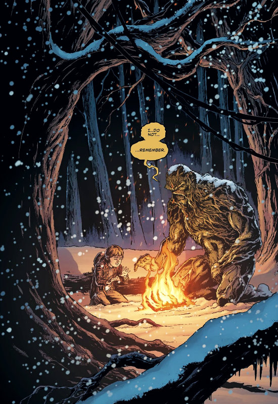 plano critico monstro do pantano swamp thing dc comics especial de inverno 2018 plano critico
