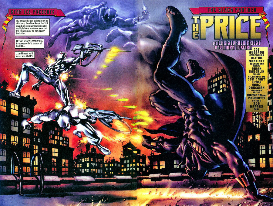 plano critico o pantera negra o cliente priest marvel comics plano critico